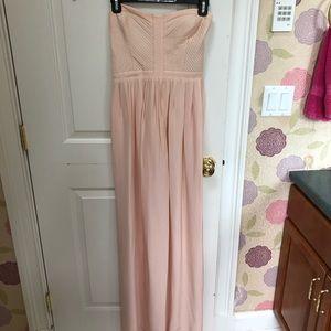 Parker Light Pink Gown Size M